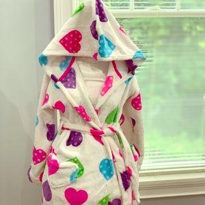 Other - Hooded fleece robe.